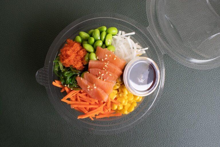 Grab en go catering pokebowl
